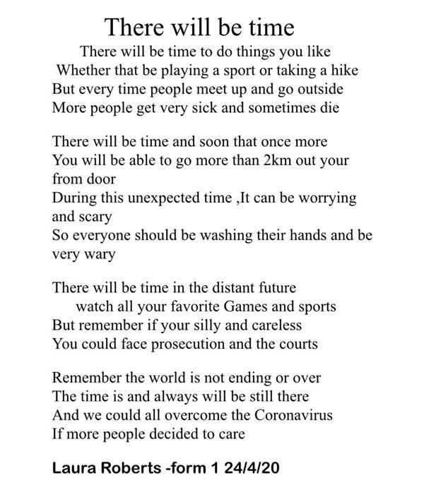 1st Year Poetry Competition